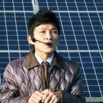 太陽光発電について詳しく説明してくださいました(けっこうイケメン)