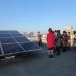 また別の種類の太陽光発電パネル