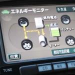 燃料電池自動車(FCV)のエネルギーモニター