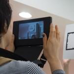 タブレットのカメラで拡張現実を確認